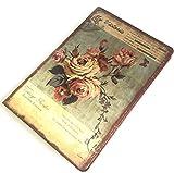 [フェアリーテール]アンティーク 日記帳 フラワー ノート イラスト しおり付き 花柄 布表紙 選べる デザイン (リリー) (ピンク)