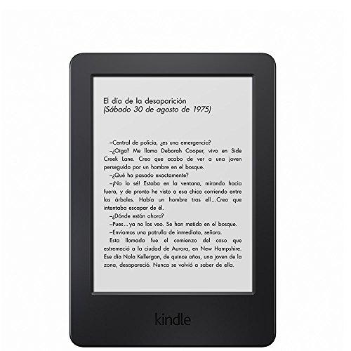 E-reader Kindle, pantalla táctil antirreflejos de 6'' (15,2 cm), Wi-Fi