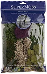 Long lasting preserved Moss Add natural botanical elements to any arrangement, centerpiece, or space in the house Washed and cleaned to remove dust and small particles Ideal for covering soil and dressing potted plants Great for special events, home ...
