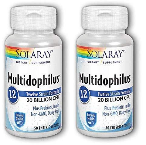 Multidophilus 12-50 vegcaps - Protecc. enterisch (Pack 2 u.)