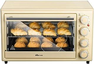 Fours grille-pain Mini-Four Multifonctionnel Domestique de 30 litres, Double vitrage, contrôle indépendant de la températu...