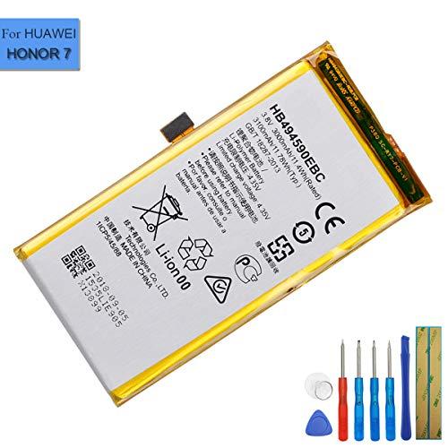 E-yiviil HB494590EBC - Batería de repuesto para Huawei Honor 7 Huawei Ascend G620S (con herramientas)