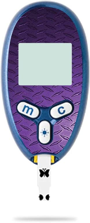 latest MightySkins Skin Compatible with New popularity Abbott Lite Freestyle - Purple