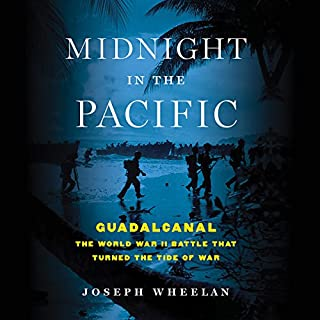 Midnight in the Pacific audiobook cover art
