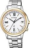 シチズン CITIZEN 腕時計 xC クロスシー エコ ドライブ 電波時計 ハッピーフライトシリーズ クロスシー × mi-mollet 限定モデル CB1108-55A レディース