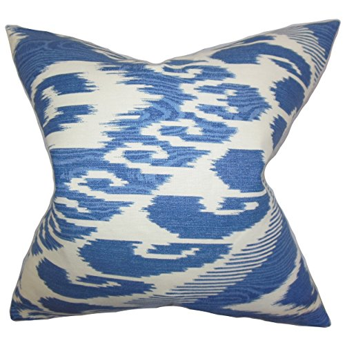 The Pillow Collection Ande Ikat Throw Pillow Cover Shefinds