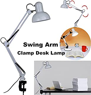 Adjustable Flexible Desk Lamp Clamp On Study Artist Drafting Design Office Studio Table Light
