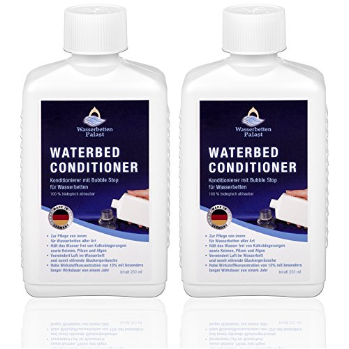 Wasserbetten Palast 2X 250ml Wasserbett Konditionierer Conditioner - Wasserbett-Zubehör für Softside Hardside