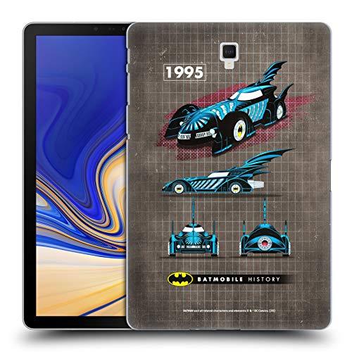 Official Batman DC Comics 1995 Movie Batmobile History Hard Back Case Compatible for Galaxy Tab S4 10.5 (2018)