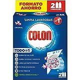 Colon Limpialavadoras - Limpiador de lavadora y antiolor - pack de 2 usos