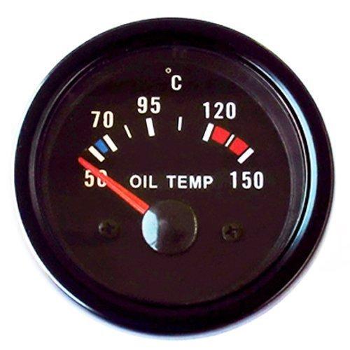 Öltemperaturanzeige 52mm Retro Oldschool Zusatzinstrument Öltemperatur universal