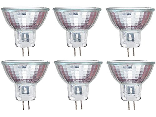 Philips 417220 Landscape Lighting and Indoor Flood 10-Watt MR11 12-Volt Light Bulb 6-Pack