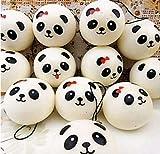 Lkinst Creative Cute Handyanhänger Cute Emoticon Simulation Kleine Panda Brot