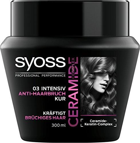 Syoss Ceramide Complex intensieve haarbreuk kuur, verpakking van 6 stuks (6 x 300 ml)