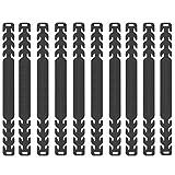 TOGOTTAI Ganci Di Prolunga Regolabili 10 Pezzi Orecchio Antiscivolo Gancio Elastici Estensione Elastico Orecchie Mascherina In Silicone per Alleviare il Dolore con Protezione per le Orecchie