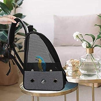 Sac à dos pour perroquet, cage à oiseaux, boîte de transport portable, convient pour la plupart des voyages et randonnées