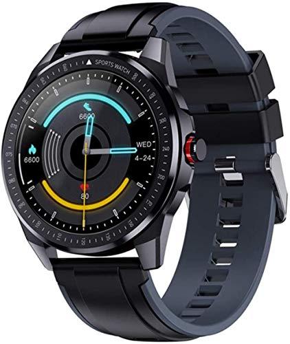 Reloj deportivo Bluetooth para hombre con frecuencia cardíaca, rastreador de actividad física, 60 días en espera para Android IOS nuevo GPS Smart Watch -B