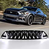 Dreamseek LED Grille for Ford Mustang 2015 2016 2017 Front Bumper Grill Armor Style