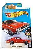 Hot Wheels 2016 Night Burnerz '69 Dodge Charger 500 84/250, rojo (tarjeta larga)