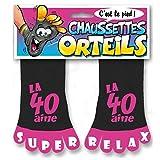Chaussettes à Orteils Rose la 40 aine Super Relax