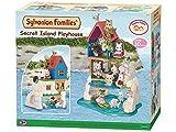 SYLVANIAN FAMILIES- Secret Island Playhouse Casa de Mini muñecas y Accesorios, Multicolor (Epoch...