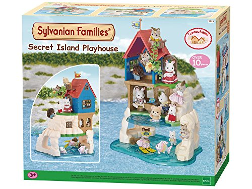 Sylvanian Families 5229 Insel Spielhaus - Puppenhaus Spielset