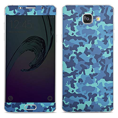 DeinDesign Folie kompatibel mit Samsung Galaxy A5 Duos 2016 Aufkleber Skin aus Vinyl-Folie Tarnmuster Camouflage Bundeswehr