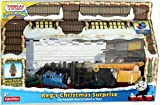 Thomas & Friends Take-n-Play REG'S CHRISTMAS SURPRISE Exclusive Play Set with Scrap Metal Christmas Tree by Fisher-Price -