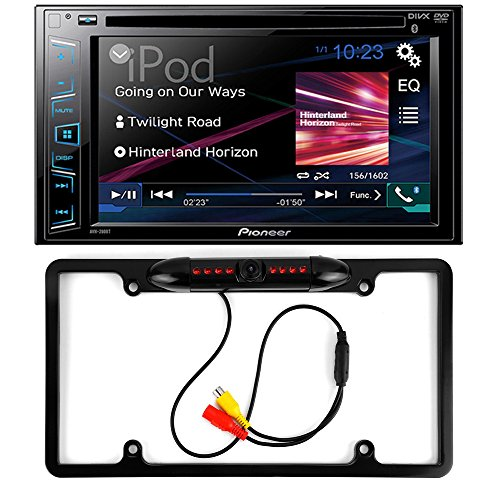 Pioneer AVH-280BT Double DIN Bluetooth In-Dash DVD/CD/AM/FM...