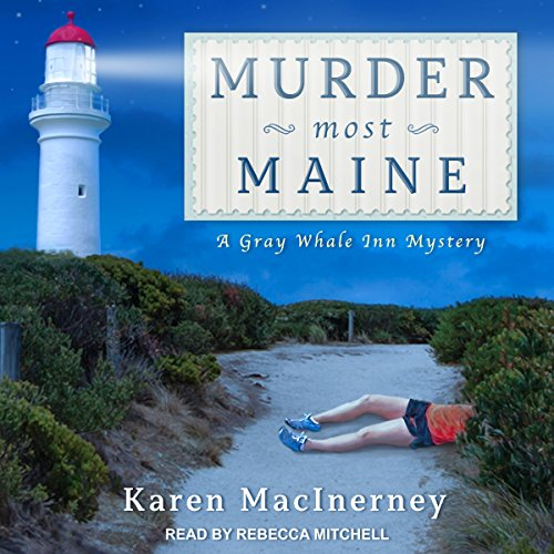 Murder Most Maine audiobook cover art