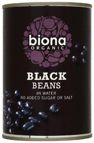 Biona Organic Black Beans 400 g by Biona