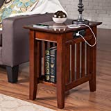 Fremont Chair Side Table With Charger