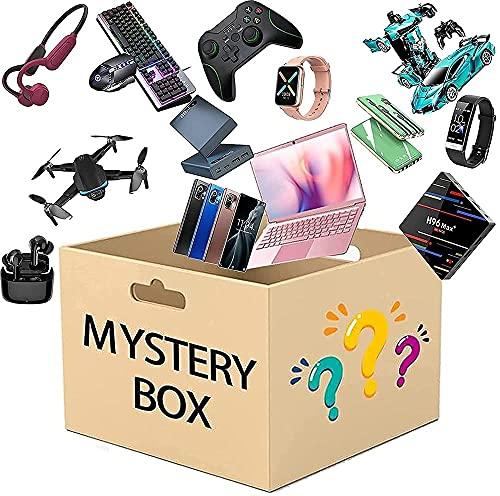HTYY Mystery Box Electronics Fortunato scatole cieche Scatola Casuale Stile corpulento Cuore Ottimo Rapporto qualità-Prezzo per Soldi darsi Una Sorpresa o Come Regalo per Gli Altri