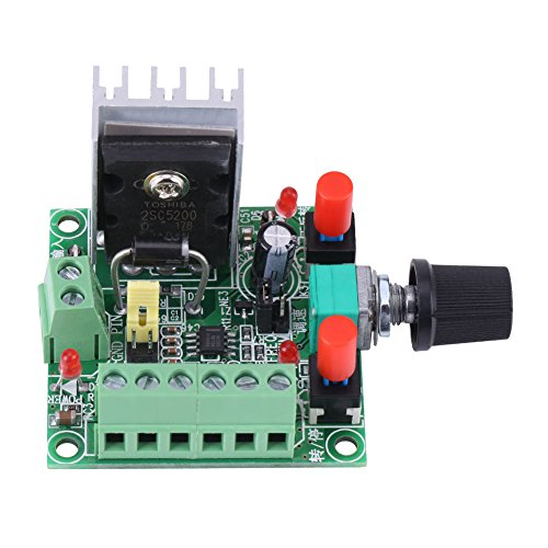 FTVOGUE Controlador de Motor Paso A Paso Pwm Generador de SeñAl de Pulso Regulador de Velocidad Junta RegulacióN de Frecuencia Ajustable