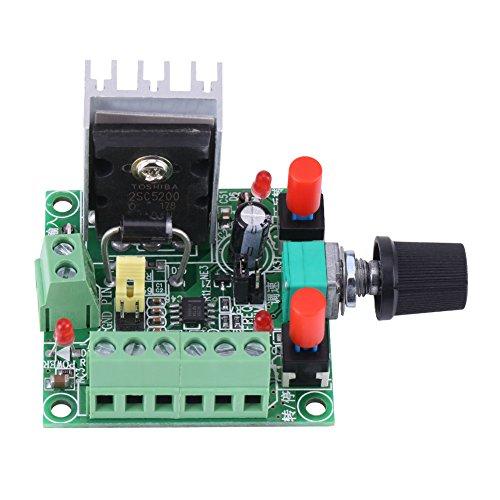 Signalgenerator,PWM-Generator Signalgenerator Modul PWM/Frequenz Impuls Justierbarer Schrittmotor Antrieb Controller Brett mit Überbrücker,mit drei Arten von Frequenzsignalen