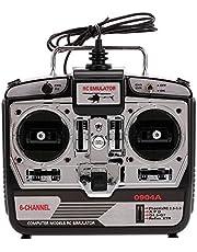 Goolsky 16 en 1 6CH USB Flight Simulator Emulator para RC Helicóptero Avión FPV Racing Drone Quadcopter