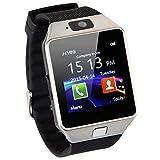 Emebay - Reloj Inteligente Bluetooth/Reloj Inteligente Bluetooth Smart Watch con Cámara Para Huawei, Xiaomi, Sony, Samsung y de Otros Android Smartphones Dz09 (Inactive Podómetro)