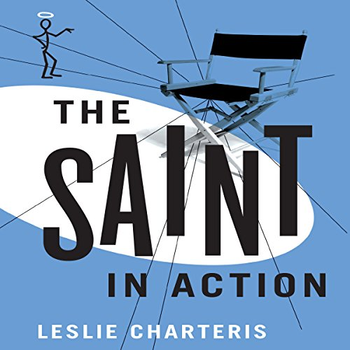 The Saint in Action audiobook cover art