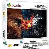 1000 piezas juegos de rompecabezas gratis Jigsaws 1000 piezas para adultos El caballero oscuro trilogía para adultos niños (75x50cm)