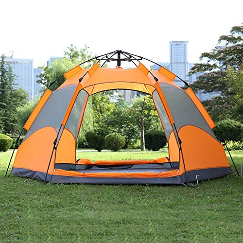 Outdoor Camping Tent Adtrek Double Skin Dome 4 Man Berth Camping Festival Family Tent Dome Tent