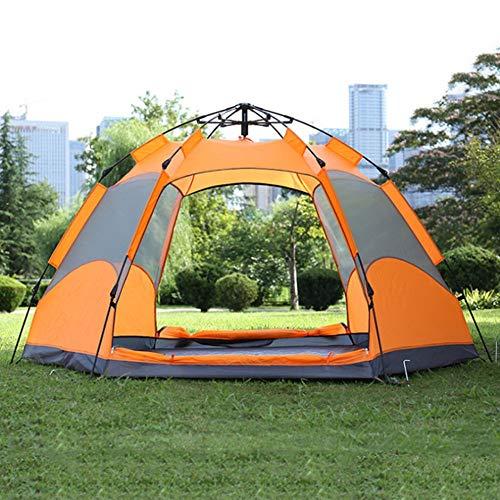 Outdoor Kuppelzelt Adtrek Double Skin Dome 4-Mann-Liegeplatz Camping Festival Familienzelt Campingzelt