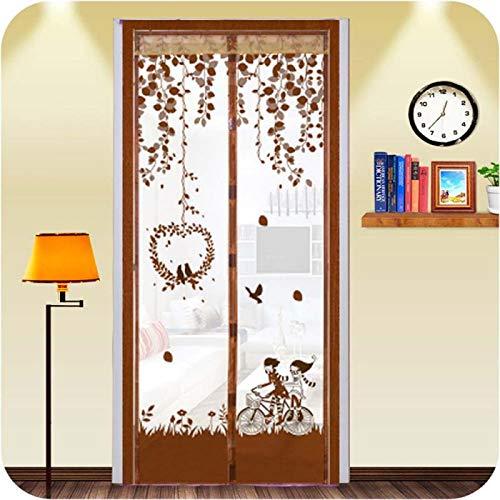 Sommerhaus magnetische Adsorption Mesh Gaze Tür Moskitonetz Vorhänge Küchenfenster dauerhafte Organza Mesh Gaze A2 B100xH210