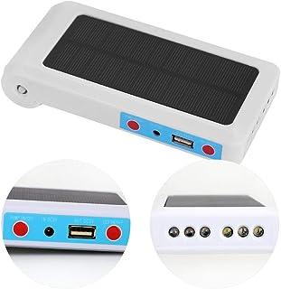 Ejoyous - Bomba de Aire portátil Solar Resistente al Agua, USB, oxigenador, para Acuario, mar, Pesca, Estanque, ventilación, Bomba de oxígeno, Estanque, Bomba de Aire