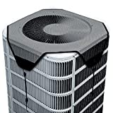 SYITEM Air Conditioner Covers for Outside Units, Ac Unit Defender Cover Mesh Central Leaf Guard Outdoor (28 inch)