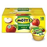 Mott's Applesauce, 4 oz cups, 18 count