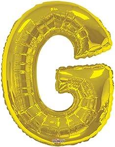 حرف G ذهبي كبير