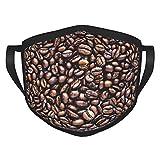 caffè Adulti bordura maschere moda fiore vernice & inchiostro maschere viso lavabile rivestimenti viso portatile protezione bordo elastico 1 pacchetto