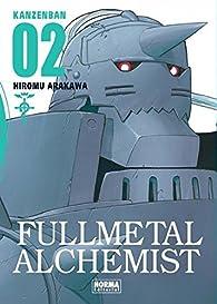 FULLMETAL ALCHEMIST KANZENBAN 02 par Hiromu Arakawa