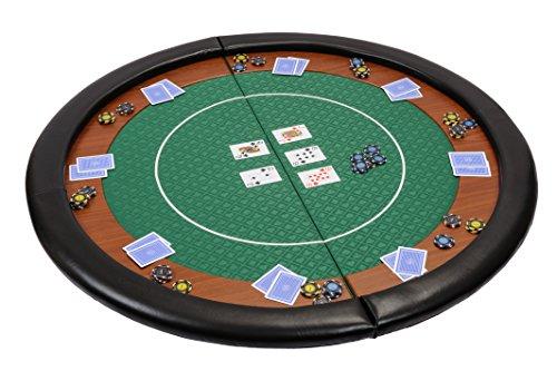 Riverboat Gaming Compacto Tablero de póquer Plegable - Mesa de Poker en Suited...