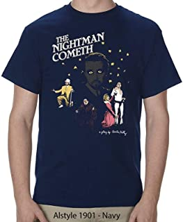 Ripple Junction Men's it's Always Sunny in Philadelphia Adult Unisex the Nightman Play Heavy Weight 100% Cotton Crew T-Shirt